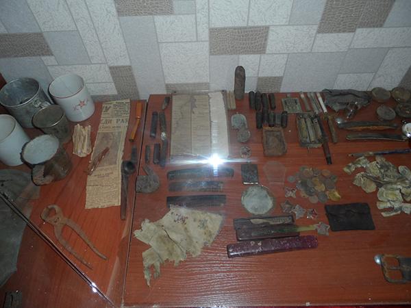 Личные вещи солдат РККА